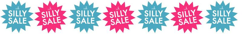 Silly sale banner